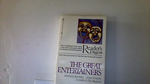 Great Entertainers (9780425060735) by Editors Of Reader's Digest