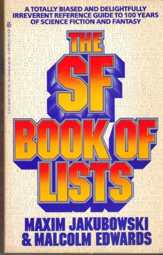 The SF Book of Lists (0425061876) by Malcolm Edwards; Maxim Jakubowski