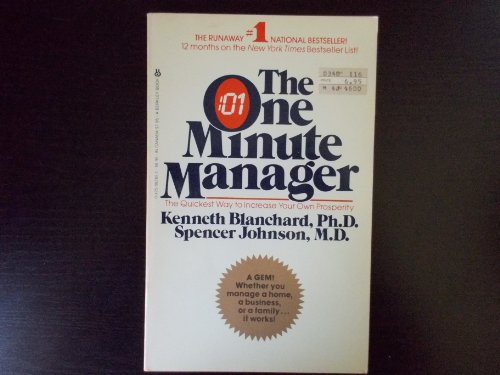 9780425062654: The One Minute Manager