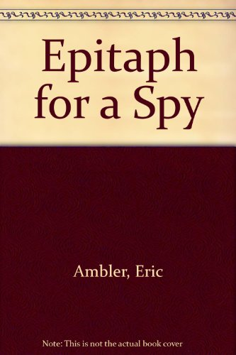 9780425065648: Epitaph For A Spy