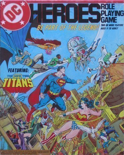 9780425066331: DC Heroes Role Playing Game (box set)