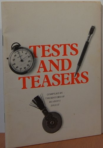 Tests And Teasers: Editors of Reader's