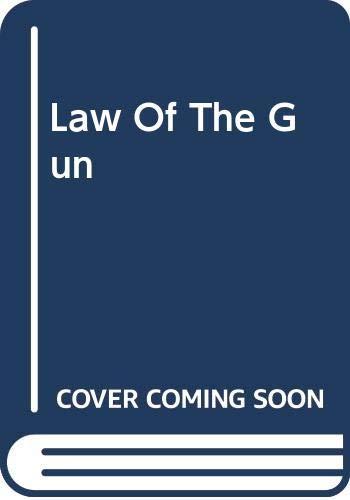9780425068403: Law Of The Gun