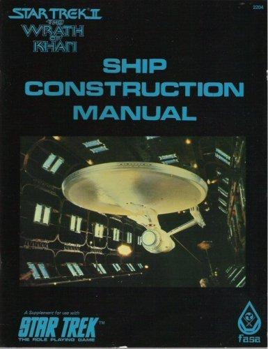 9780425069523: Ship Construction Manual, 1st Edition (Star Trek RPG)