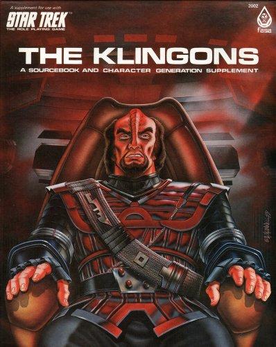 The Klingons (Star Trek RPG) [1st Edition Box Set]: John M. Ford, Guy McLimore, Greg Poehlein, ...