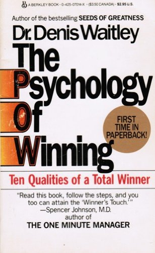 9780425070147: Psychology of Winning