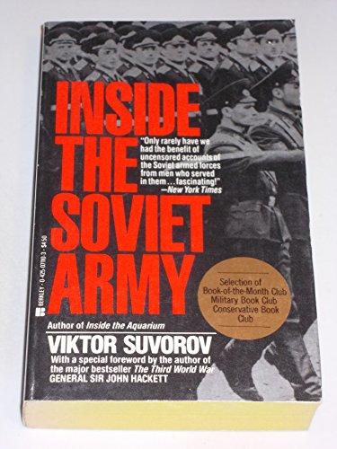 9780425071106: Inside the Soviet Army