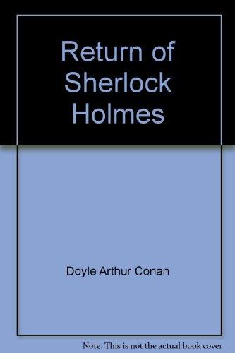 9780425071250: Return Of Sherlock Holmes