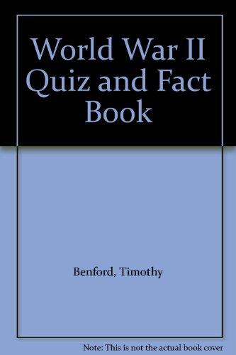 9780425071977: World War II Quiz and Fact Book