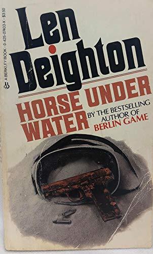 9780425074039: Horse Under Water: A Novel