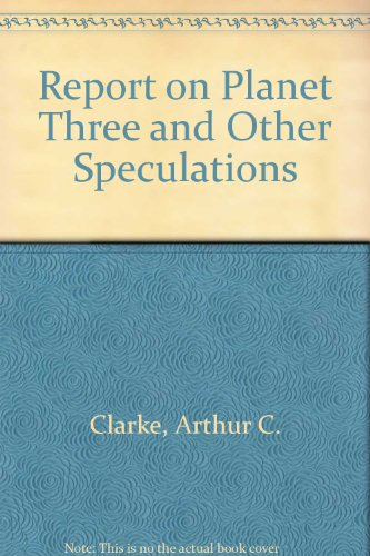9780425075920: Report on Planet Three and Other Speculations