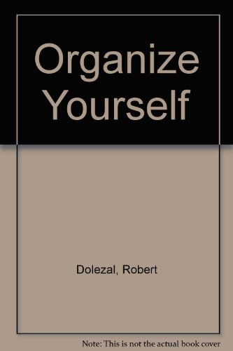9780425076989: Organize Yourself