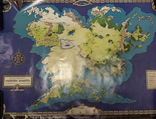 9780425078136: An Artist's Interpretation of Middle-Earth: Including the Wild Lands-East, South, & North