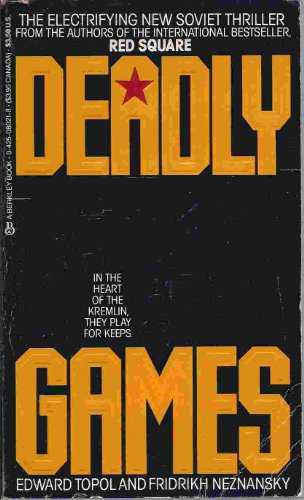 9780425080214: Deadly Games