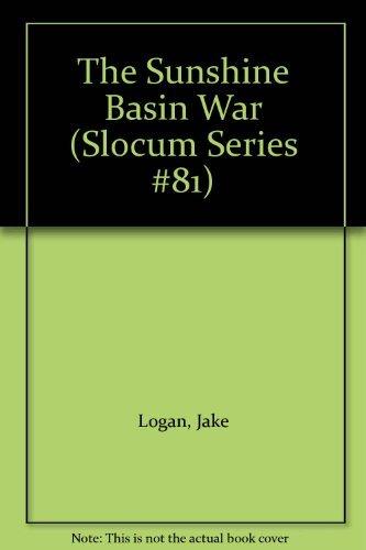 9780425080870: The Sunshine Basin War (Slocum Series #81)