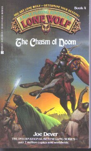 Chasm Of Doom (Lone Wolf, No 4): Dever, Joe, Chalk,