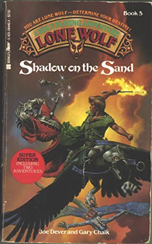 9780425084403: Shadow on the Sand (Lone Wolf)
