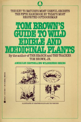 9780425084526: Tom Brown's Guide to Wild Edible and Medicinal Plants