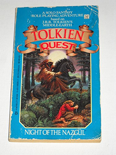 9780425086858: Tolkien Quest: Night of the Nazgul