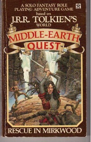 9780425086872: Middle-Earth Quest: Rescue in Mirkwood