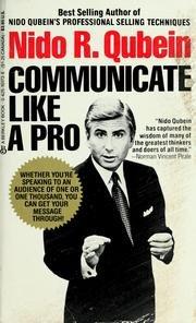 9780425087718: Communicate Like a Pro