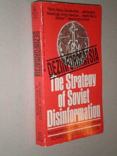 9780425087725: Dezinformatsia: Active Measures in Soviet Strategy