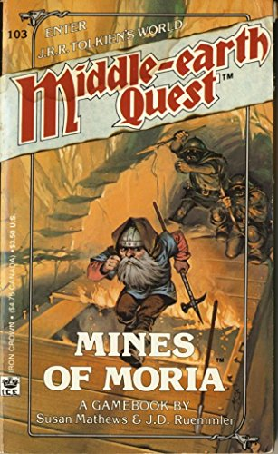 9780425089934: The Mines of Moria (Middle Earth Quest, No. 3)