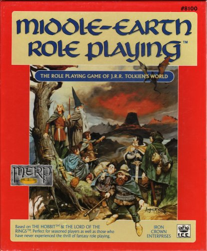 9780425090374: Middle-earth Role Playing: The Role Playing Game of J. R. R. Tolkien's World (Stock No. 8100)