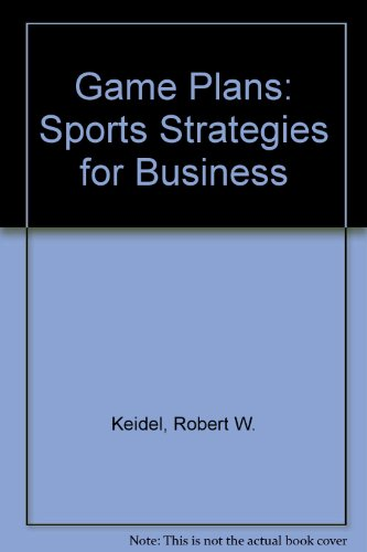 9780425093948: Game Plans: Sports Strategies for Business