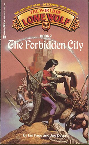 9780425097106: The Forbidden City (The World of Lone Wolf, Book 2)