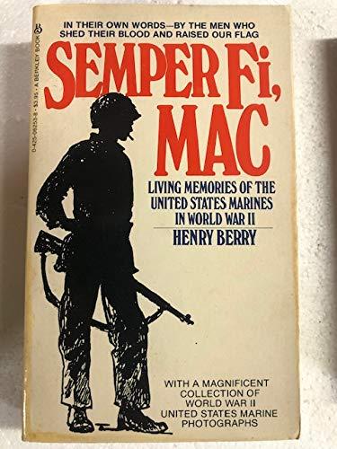9780425097243: Semper Fi Mac