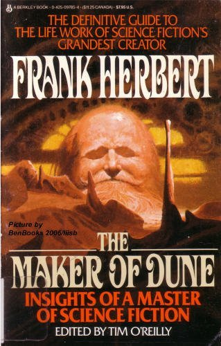 9780425097854: The Maker of Dune: Insights of a Master of Science Fiction