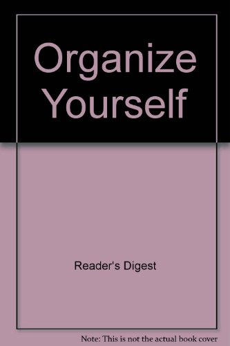 9780425098042: Organize Yourself