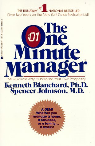 9780425098479: The One Minute Manager