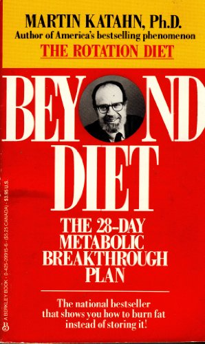 9780425099155: Beyond Diet: The 28-Day Metabolic Breakthrough Plan