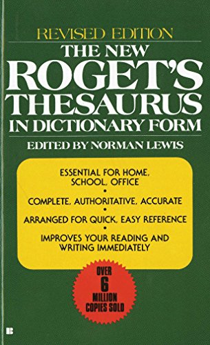 9780425099759: The New Roget's Thesaurus: In Dictionary Form