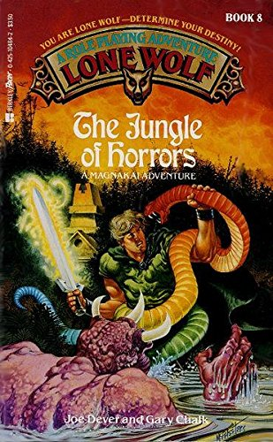 9780425104842: The Jungle of Horrors (Lone Wolf)