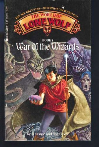 War of the Wizards (The World of Lone Wolf, Book 4) (0425105393) by Page, Ian