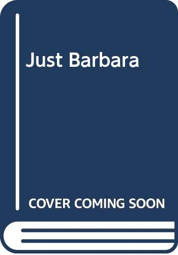Just Barbara (0425106985) by Barbara Woodhouse