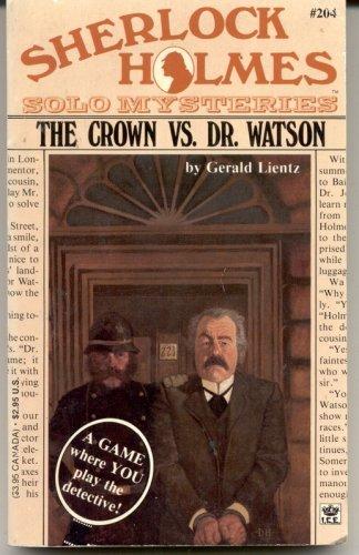 9780425108765: The Crown Vs Dr. Watson (Sherlock Holmes Solo Mysteries)