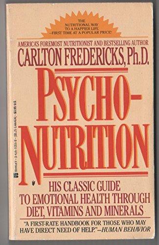 9780425110553: Psycho-nutrition