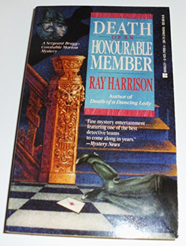 9780425111895: Death of an Honourable Member