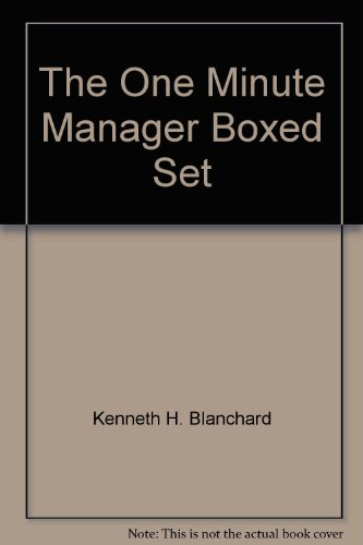 9780425113370: The One Minute Manager Boxed Set