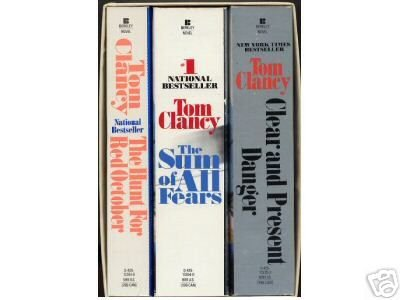 Clancy boxed set (0425113396) by Tom CLANCY