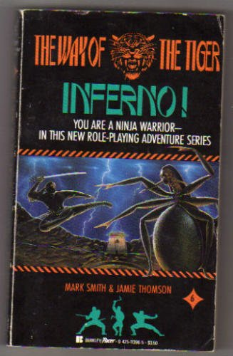 9780425113967: Inferno! (The Way of the Tiger Series)