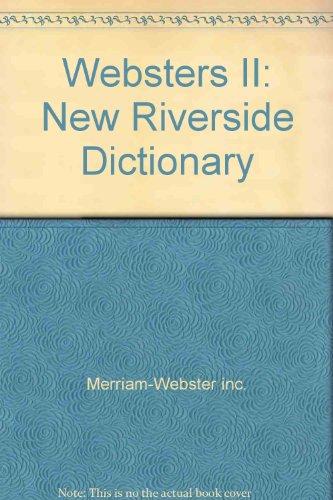 9780425118054: Websters II: New Riverside Dictionary