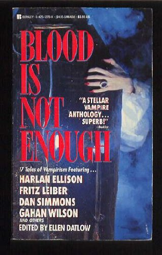 9780425121788: Blood Is Not Enough
