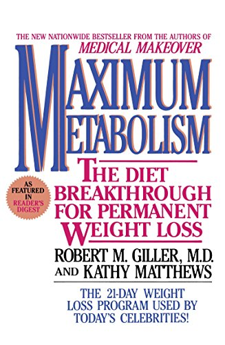 Maximum Metabolism The Diet Breakthrough for Permanent Weight Loss