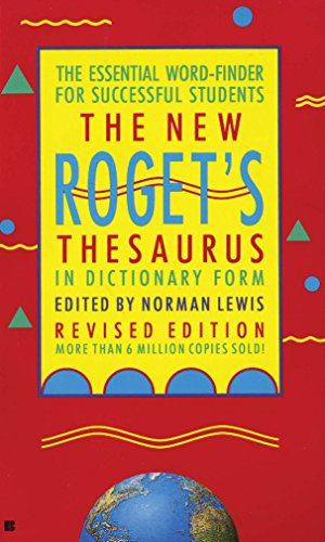 The New Roget's Thesaurus (Student Edition): American Heritage Editors