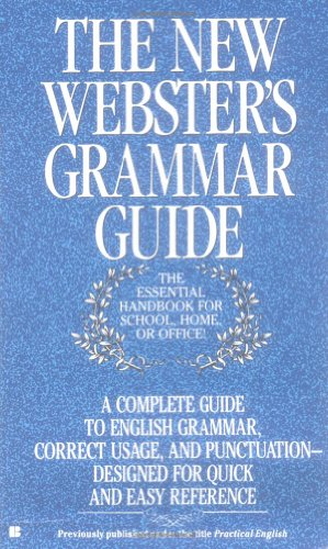 9780425125571: The New Webster's Grammar Guide